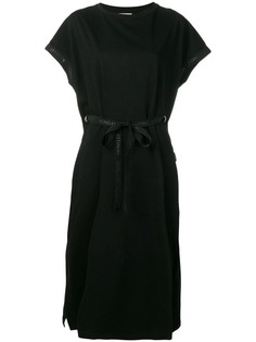 Moncler платье-футболка с логотипом