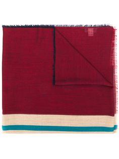 Lanvin шарф с необработанными краями