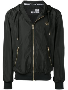 Love Moschino куртка с капюшоном