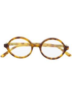 Han Kjøbenhavn солнцезащитные очки в круглой оправе черепаховой расцветки
