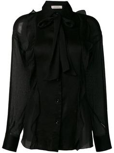 Nina Ricci полупрозрачная блузка