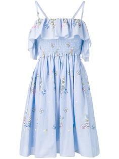 Blugirl платье с оборками
