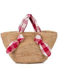 Loeffler Randall соломенная сумка-тоут Hazel