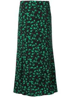 Jovonna floral pattern long skirt