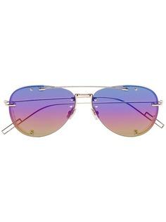 Dior Eyewear солнцезащитные очки Chroma1 в металлической оправе