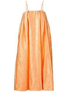 Simone Rocha парчовое платье без рукавов