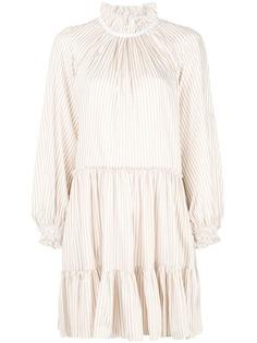 3.1 Phillip Lim полосатое платье с оборками