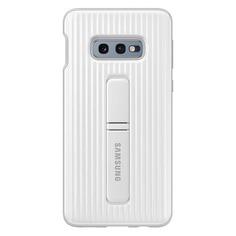 Чехол (клип-кейс) SAMSUNG Protective Standing Cover, для Samsung Galaxy S10e, белый [ef-rg970cwegru]