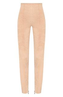 Кожаные брюки Balmain