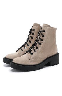 Замшевые ботинки Kenzo