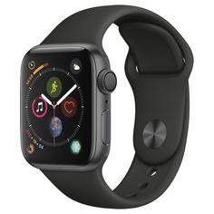 Смарт-часы Apple Watch S4 Sport 44mm SpaceGrey Al/Black Sport Band
