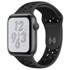Смарт-часы Apple Watch S4 Nike+ 44mm SpGray Al/Bl Nike Sport Band