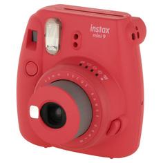 Фотоаппарат моментальной печати Fujifilm INSTAX MINI 9 POPPY RED