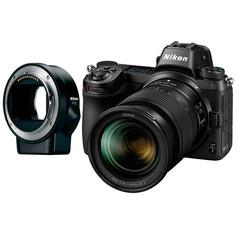 Фотоаппарат системный премиум Nikon Z7 + 24-70 f4 + FTZ Adapter Kit