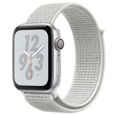Смарт-часы Apple Watch S4 Nike+ 40mm Silver Al/Wh Nike Sport Loop