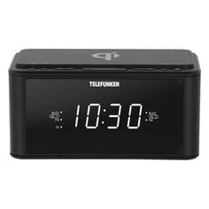 Радио-часы Telefunken TF-1595U Black