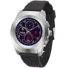 Смарт-часы MyKronoz ZeTime Regular Original Br.SilverBlack Silic.Flat