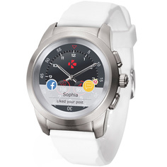 Смарт-часы MyKronoz ZeTime Petite Original Br.Silver White Silic.Flat