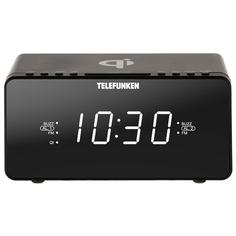 Радио-часы Telefunken TF-1594U Black
