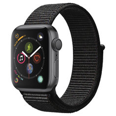 Смарт-часы Apple Watch S4 Sport 40mm SpaceGrey Al/Black Sport Loop