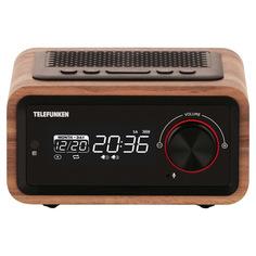 Радио-часы Telefunken TF-1582UB Dark Wood