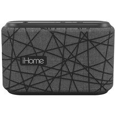 Беспроводная акустика iHome iBT370 Grey/Black