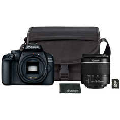 Фотоаппарат зеркальный Canon EOS 4000D 18-55 III+сумка+SD16GB