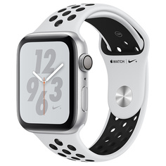 Смарт-часы Apple Watch S4 Nike+ 44mm Silver Al/Bl Nike Sport Band