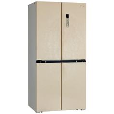 Холодильник многодверный Hiberg RFQ-490DX NFYm