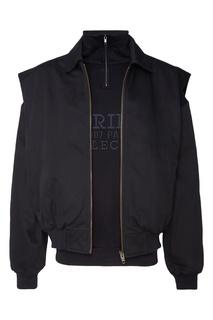 Черная куртка-трансформер Balenciaga Man