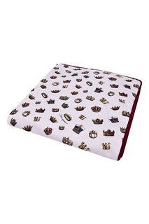Одеяло с коронами Dolce&Gabbana Children