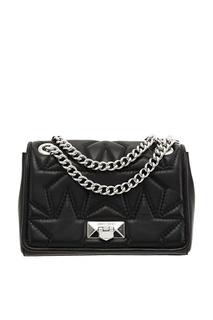 Черная сумка Helia Jimmy Choo