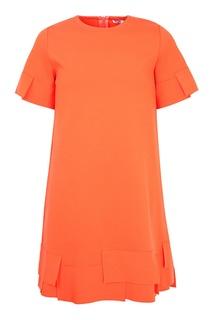 Оранжевое платье Il Gufo