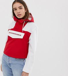 Красная укороченная куртка Napapijri Rainforest - Красный