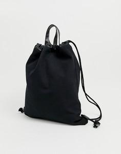 Черная сумка-тоут на шнурке Mi-Pac - Черный