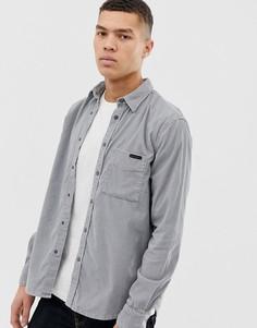 Серая вельветовая рубашка Nudie Jeans Co - Sten - Серый