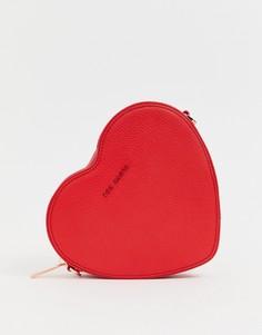 Сумка в форме сердца Ted Baker - Amellie - Красный