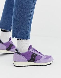 Фиолетовые кроссовки Saucony Jazz Original - Фиолетовый