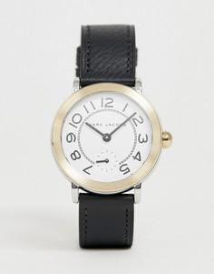 af5b0ab1dfde Женские часы с черным кожаным ремешком Marc Jacobs riley MJ1514 - Черный