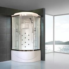 Душевая кабина Royal Bath NRW 100х100х225 стекло прозрачное (RB100NRW-T-CH)