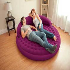 Надувной матрас-кровать Intex 191х191х53 см (68881)