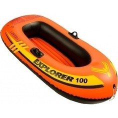 Надувная лодка Intex Explorer 100 (до 55кг) 147x84x36 см 58329