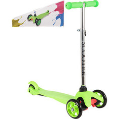 Самокат 3-х колесный Leader Kids LK-102 Green (зеленый) GL000890073
