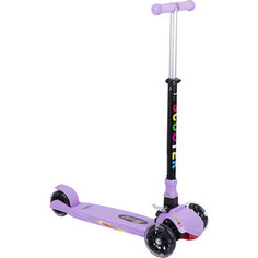 Самокат 3-х колесный Leader Kids (фиолетовый) GL000373865