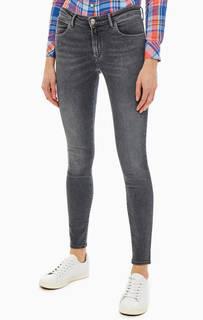 Серые джинсы скинни с застежкой на молнию и болт Skinny Wrangler