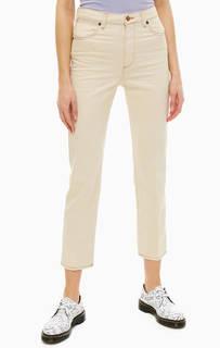 Бежевые джинсы прямого кроя Retro Straight Wrangler