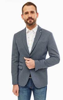 Синий пиджак с карманами Selected