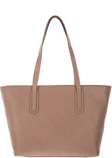Вместительная кожаная сумка с длинными ручками Dione Saffiano Coccinelle