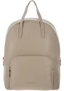 Городской рюкзак из натуральной кожи с одним отделом Dione Coccinelle
