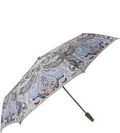 Складной автоматический зонт с прорезиненной ручкой Labbra